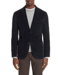 Boglioli Trim Fit Stretch Corduroy Cotton Blazer