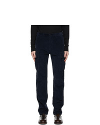 Belstaff Navy Cord Holder Cargo Pants