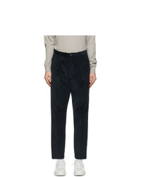 Ps By Paul Smith Navy Corduroy Chino Trousers