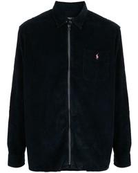 Polo Ralph Lauren Navy Zip Shirt