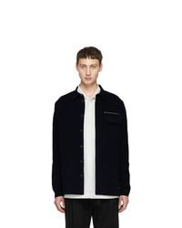 Stephan Schneider Navy Shirt Jacket