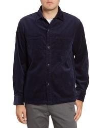 Bonobos Slim Fit Button Up Corduroy Shirt Jacket