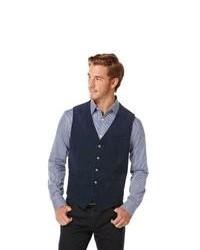 Perry ellis cotton corduroy vest medium 82875