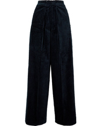 Golden Goose Deluxe Brand Bertilla Cotton Corduroy Wide Leg Pants