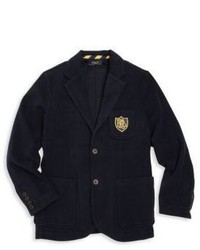 Ralph Lauren Boys Patch Detail Blazer
