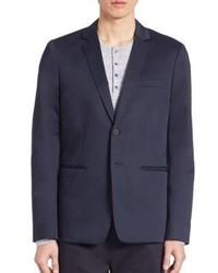 Vince Cotton Sateen Unconstructed Jacket