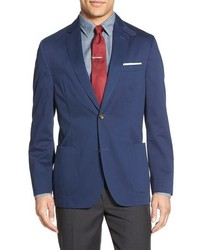 Flynt classic fit brushed cotton sport coat medium 790822