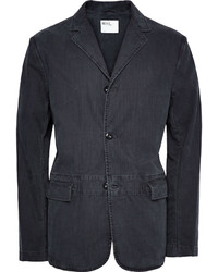 Margaret Howell Mhl Unstructured Washed Cotton Twill Blazer