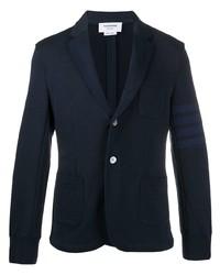 Thom Browne Single Breasted Cotton Blazer