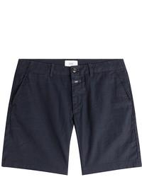 Closed Linen Cotton Shorts