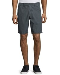 John Varvatos Star Usa Flap Pocket Cotton Shorts