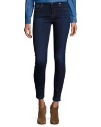 7 For All Mankind B Raw Edge Ankle Skinny Jeans