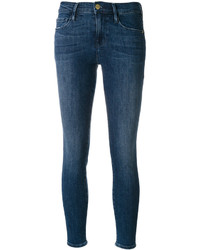 Denim skinny cropped jeans medium 4991002