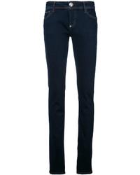 Philipp Plein Embroidered Skinny Jeans