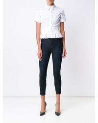 J Brand Skinny Fit Cropped Capri Jeans