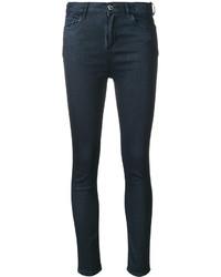 Twin-Set Waxed Skinny Jeans