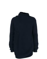 Jil Sander Oversized Asymmetric Sweater