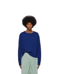 Sies Marjan Blue Cashmere Jett Sweater