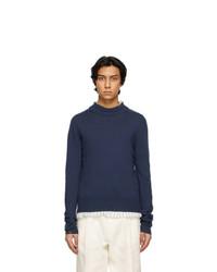 Maison Margiela Blue Sweater