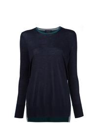 Rag & Bone Cashmere Two Tone Sweater