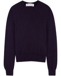 Comme des Garcons Comme Des Garons Girl Bow Intarsia Knitted Sweater