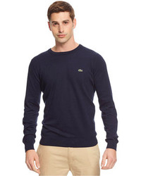 Lacoste Cotton Crew Neck Sweater