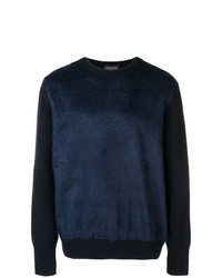 Roberto Collina Crew Neck Fur Jumper