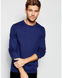 Esprit Crew Neck Sweater In Cotton Cashmere