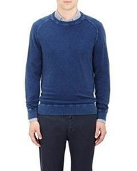 Massimo Alba Crewneck Sweater Blue