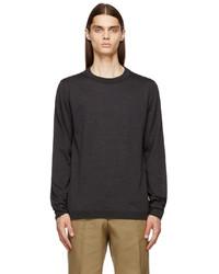 Maison Margiela Grey Wool Sweater