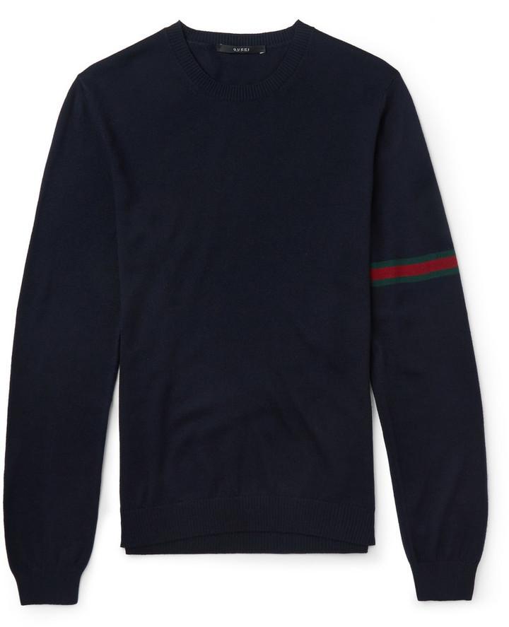 ... Gucci Gucci Wool Crew Neck Sweater