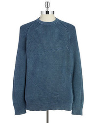 DKNY Jeans Textured Cotton Pullover