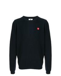 Wood Wood Logo Crewneck Sweater