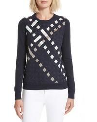 London yessica lattice front sweater medium 5264713