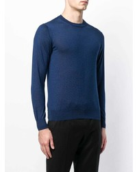 Cruciani Long Sleeve Fitted Sweater