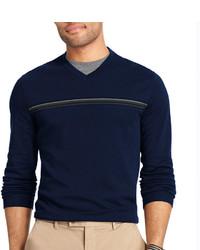 Van Heusen Long Sleeve Jasp Doubler Pullover