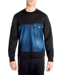 DSQUARED2 Long Sleeve Pocket Tee