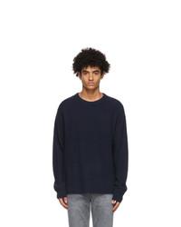 Acne Studios Navy Cashmere Sweater