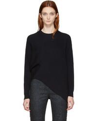 Stella McCartney Navy Clean Rib Sweater
