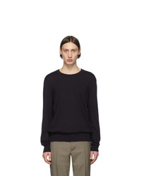 Maison Margiela Navy Patch Sweater