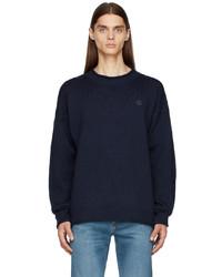 Kenzo Navy Seasonal Tiger Crest Sweater