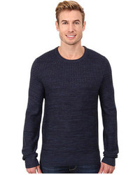 Calvin Klein Jeans Parallel Knit Stripe Crew Neck Sweater