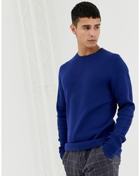 Jack & Jones Premium Knitted Jumper With Straight Edge Hem Depths