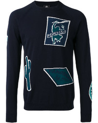 Paul Smith Ps By Patterned Crew Neck Jumper