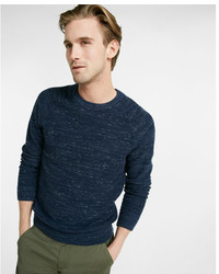 Express Reversible Crew Neck Sweater