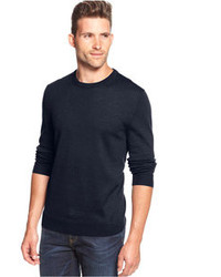 Club Room Solid Merino Blend Crew Neck Sweater
