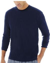 Stafford Stafford Knit Crewneck Sleep Shirt