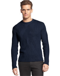 Calvin Klein Sweater Crew Neck Textured Sweater