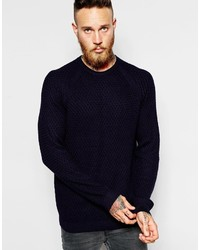 51bcb6b41f735f Ted Baker Men's Navy Sweaters from Asos | Men's Fashion | Lookastic.com
