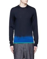 Lanvin Tie Dye Effect Merino Wool Sweater